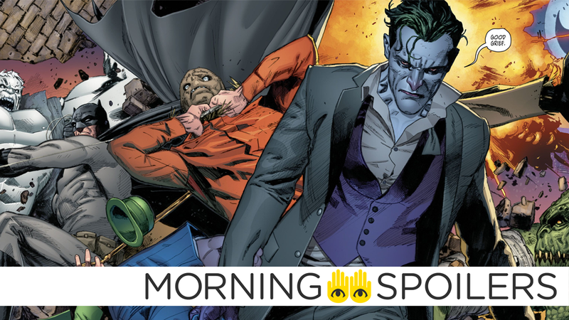 The Joker drops the best Peanuts reference in DC history in Batman #27.