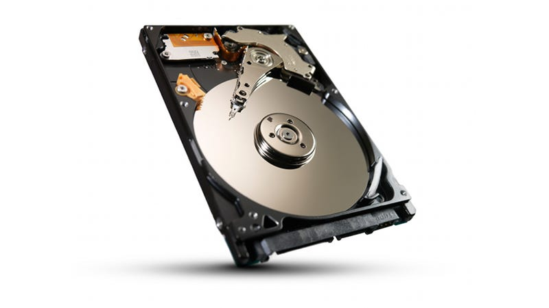 Illustration for article titled The Upgraded Seagate Momentus XT Solid State Hybrid Drive Is Bigger and Faster