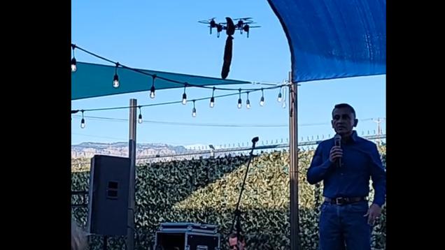 Dildo Drone Interrupts 'Tough on Crime' New Mexico Sheriff's Speech, Chaos Ensues