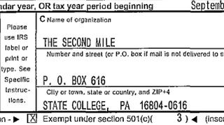 Illustration for article titled Sandusky Made Nearly $500K At The Second Mile After Admitting He Showered With A Boy, According To Tax Records