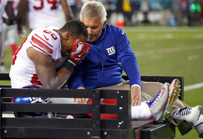 Illustration for article titled Victor Cruz's Injury Made Everyone Sad