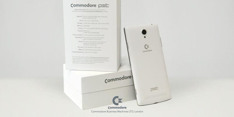 Illustration for article titled Someone Finally Resurrected the Commodore Brand for Something Useful