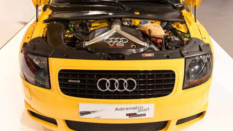 This Never Seen Audi Tt Prototype Could Eat Porsche 911s