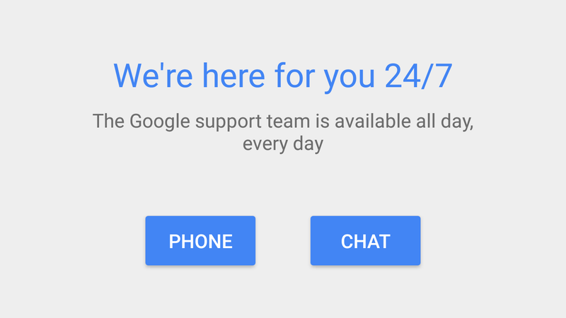 google tech support