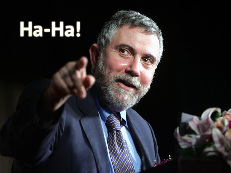Illustration for article titled Paul Krugman Does Not Like Nate Silver Anymore