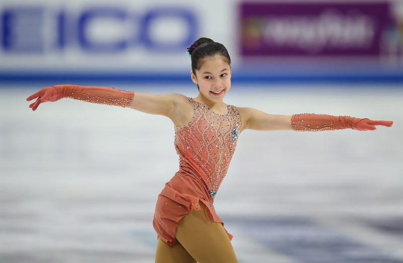 Figure Skating Dress Child Small New Varieties Are Introduced One After Another Sporting Goods Winter Sports