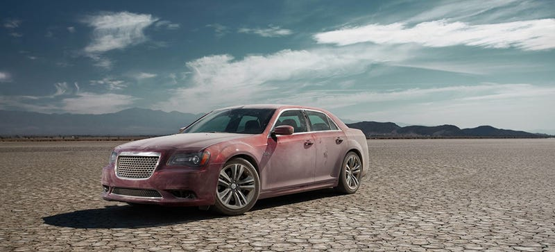 Illustration for article titled Your Ridiculously Awesome Chrysler 300 SRT8 Wallpaper Is Here