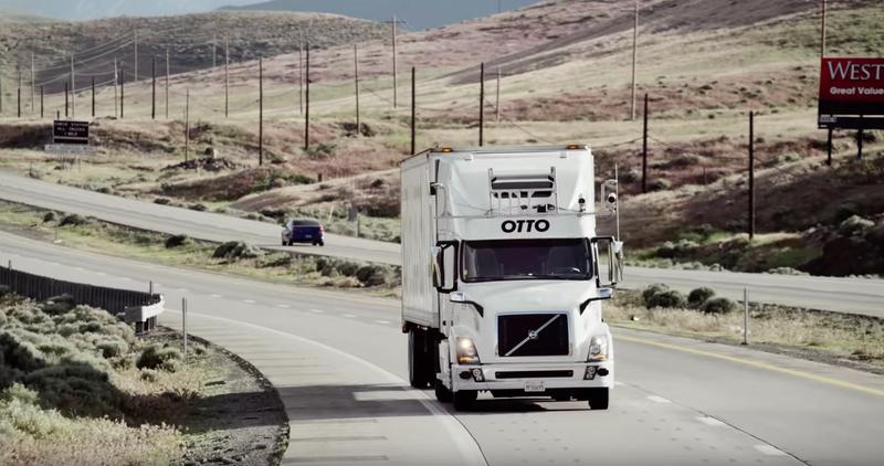 El primer camión autónomo de Uber entrego... ¡cervezas!