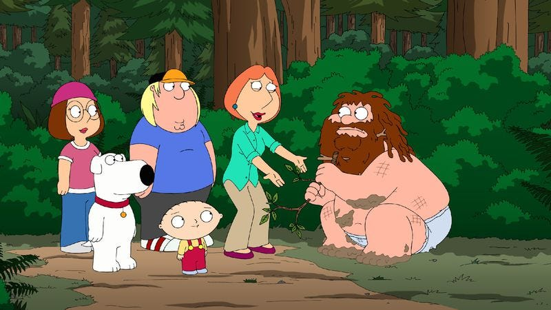 "Illustration for article titled Family Guy: ""Bigfat"""