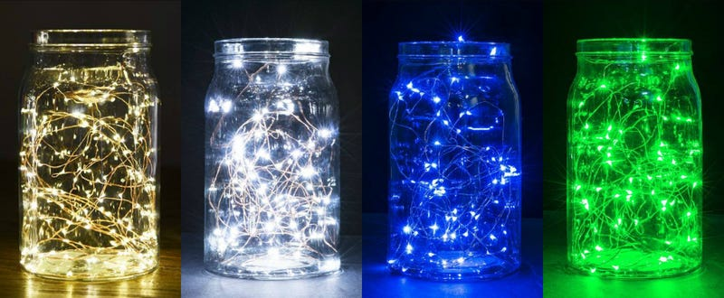 USB LED Copper String Lights, $5 with code FDO2VQ6C