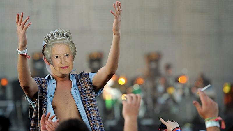Illustration for article titled The Hipster Queen Decrees that Plaid Is Now Mainstream