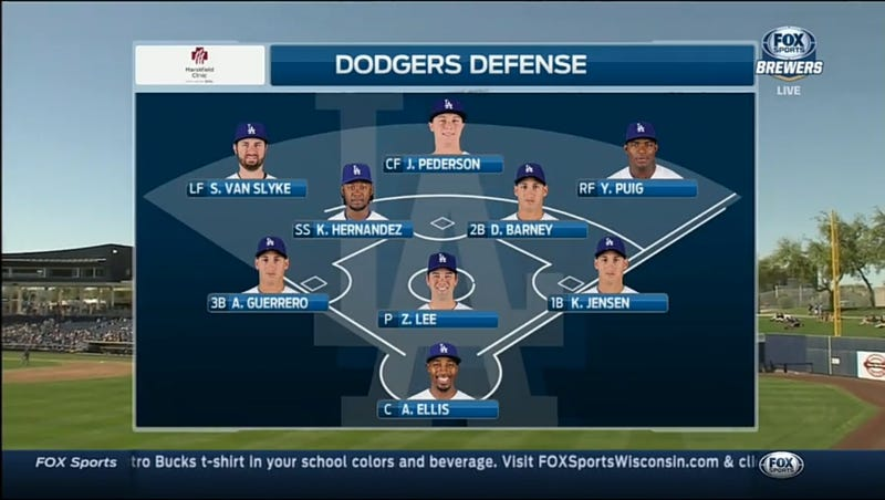 Illustration for article titled Holy Shit, Don't Fuck With This Dodgers Lineup