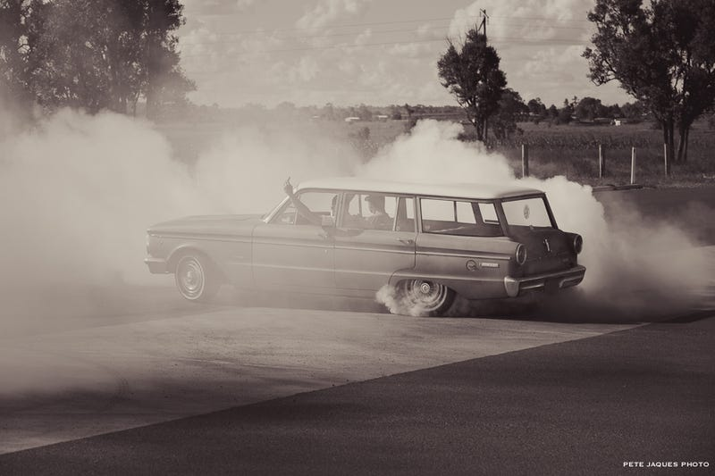 Illustration for article titled Random Wagon Burnout