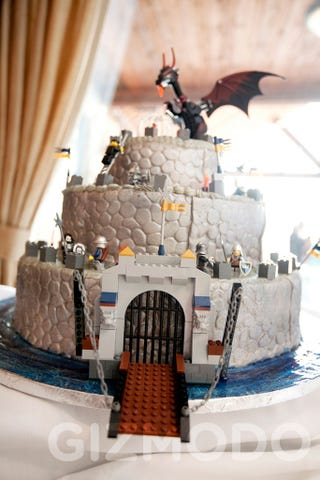 Illustration for article titled Assault the Lego Wedding Castle, Save the Princess, Save the World