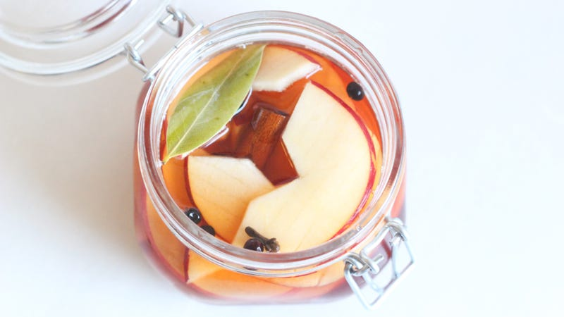 Quick-Pickle Apples to Make Them Extra Sweet and Crunchy