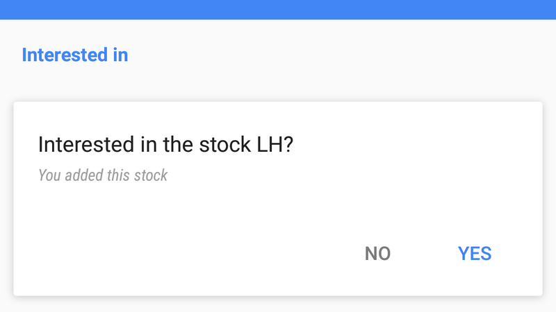 Illustration for article titled How to Block Stocks You Don't Want to See In Google Cards