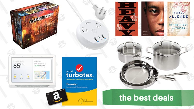 Illustration for article titled Friday's Best Deals: Amazon Digital Day, TurboTax, Separatec Men's Underwear, and More