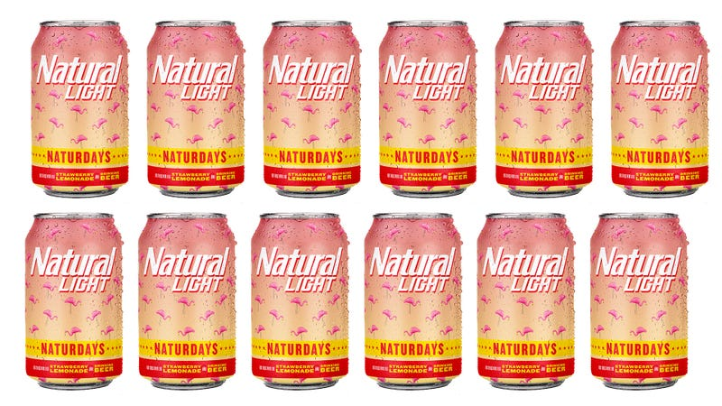 Illustration for article titled Last Call: Natural Light launches strawberry-lemonade beer called Naturdays