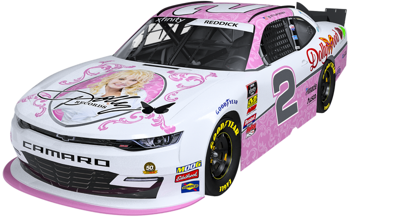 Illustration for article titled Nothing Will Ever Be As Good As This Dolly Parton NASCAR Camaro