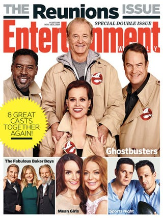 "Illustration for article titled Ghostbusters Reunion Image Asks, ""Do We Really Need A Reboot?"""