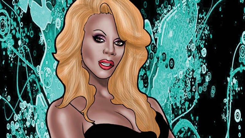 Illustration for article titled RuPaul First Drag Queen in 'Female Force' Comic Book Series