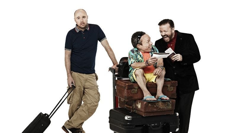 """Illustration for article titled An Idiot Abroad — """"Venice & Macedonia"""""""