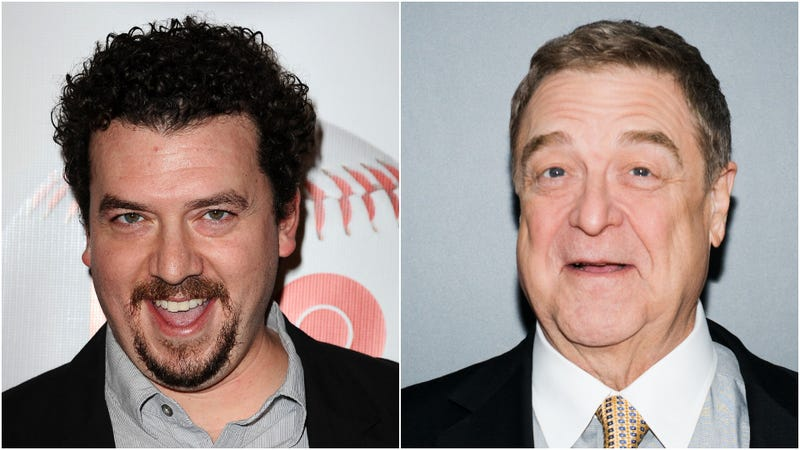 Danny McBride and John Goodman, who'll co-star in the upcoming The Righteous Gemstones.