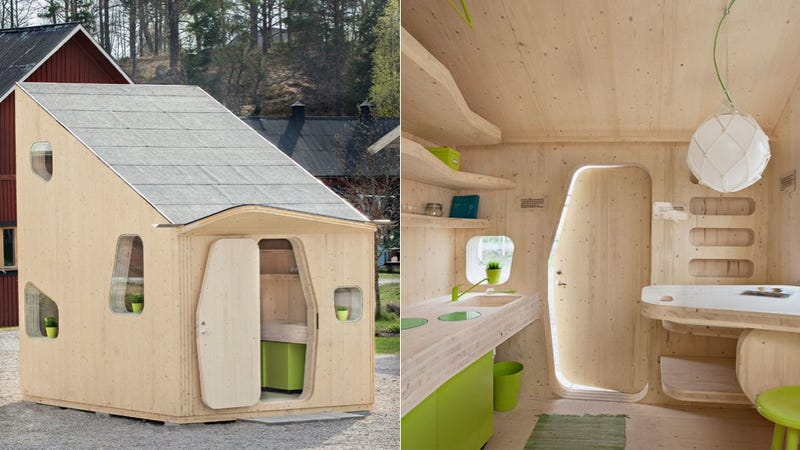 Illustration for article titled Is This Sustainable Hut the Future of Affordable Student Housing?