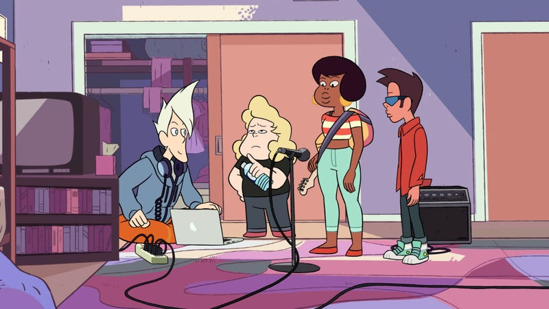 "Illustration for article titled Sadie slays at ""The Big Show"" on a killer Steven Universe"