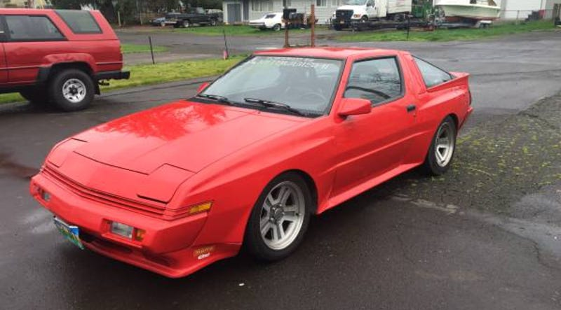 Progressive Dodge >> For $5,200, Your Driveway Could Be This 1988 Chrysler Conquest Widebody's Next Conquest