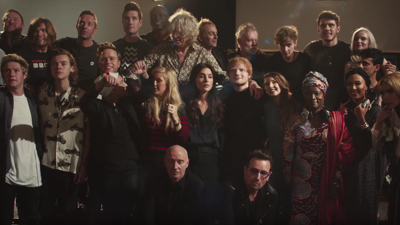Band Aid 30 tries to make the worst Christmas song worse