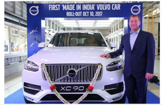 Illustration for article titled Volvo now in production in India