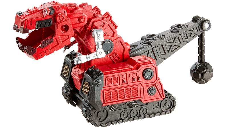 Illustration for article titled Dino-Robot Toys Are Cool. Dino-Robot-Construction-Truck Toys Are Incredible