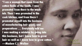 Madam Cj Walker Quotes Quote Of The Day Madam C.jwalker On Entrepreneurship