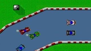 What if real racing was like 80s/90s basic race games?