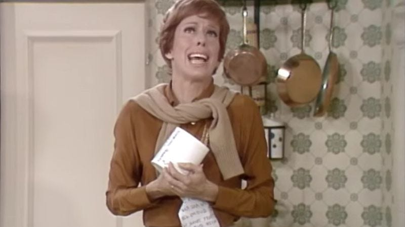 Illustration for article titled Carol Burnett deals with harsh realities (and toilet paper) in exclusive clip