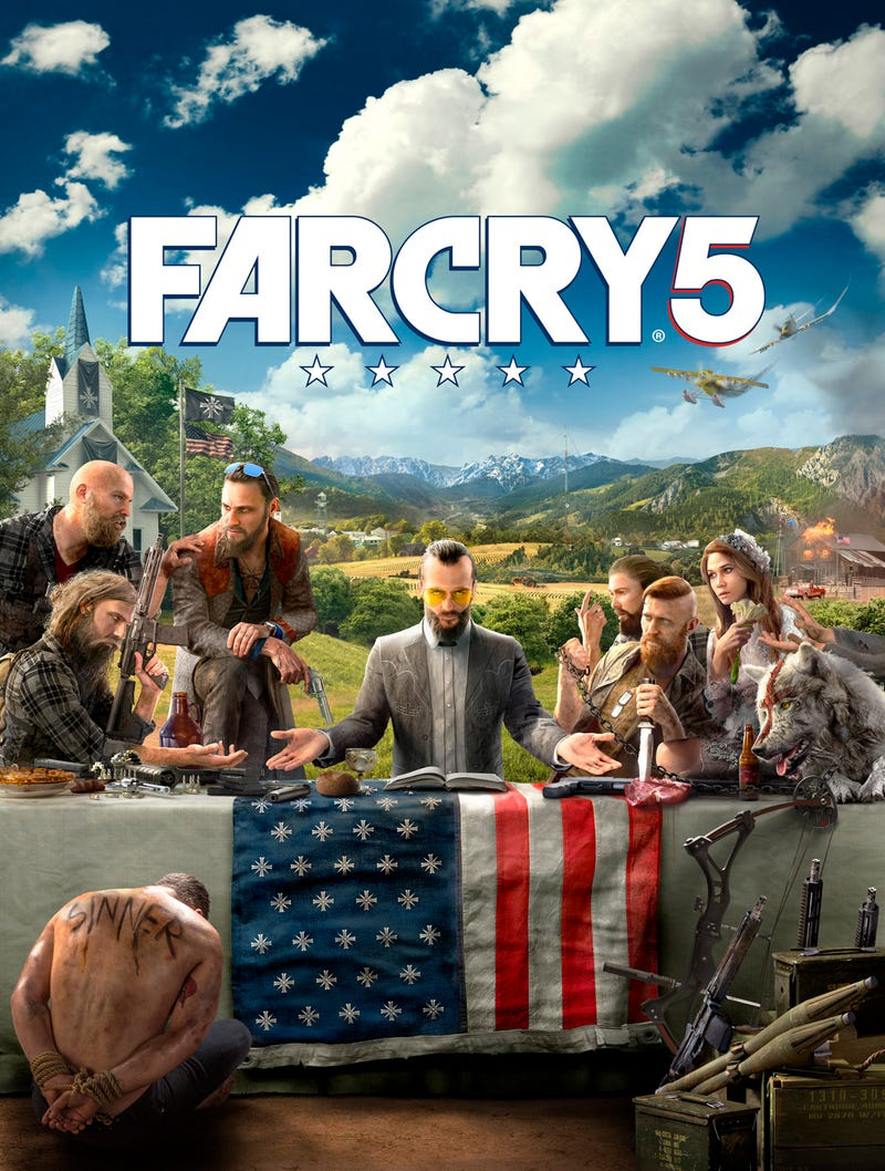 """Ubisoft is showing off this """"key art"""" for the upcoming Far Cry 5 today."""