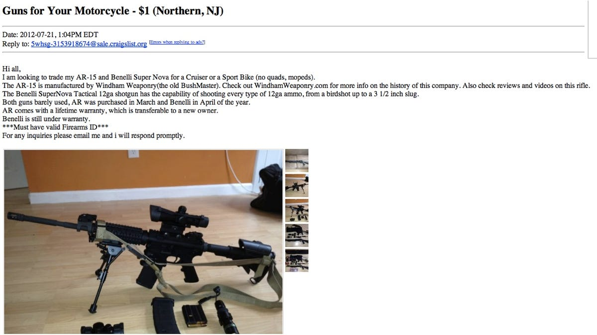 Buying a Ton of Guns on the Internet Is Cheap, Legal, and Shockingly