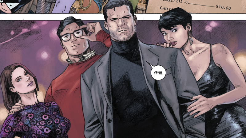 Batman and Superman's Double Date Is One of the Cutest Comic Book Team-Ups Ever