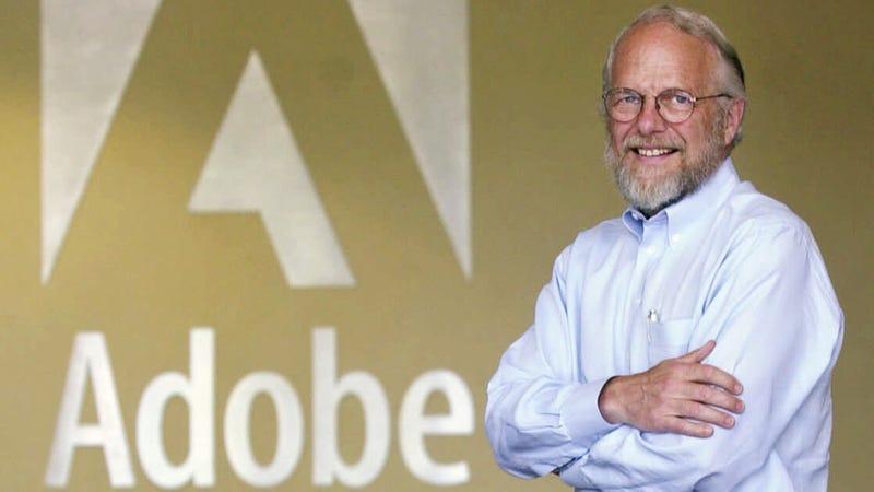 Adobe co-founder John Warnock in 2001, when Flash was useful. Photo: AP