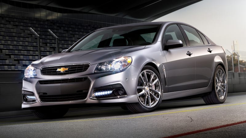 Illustration for article titled 2014 Chevrolet SS: This Is It, But Forget The Manual