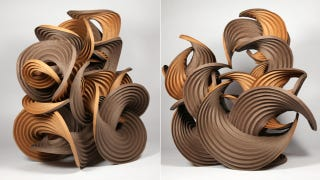 Illustration for article titled These Whimsical Origami Sculptures Fold Themselves