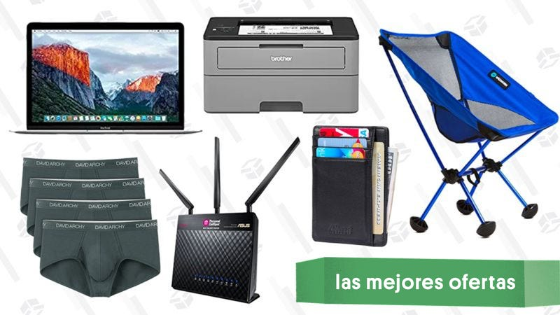 Illustration for article titled Las mejores ofertas de este martes: Impresora láser Brother, MacBooks, silla de camping y más