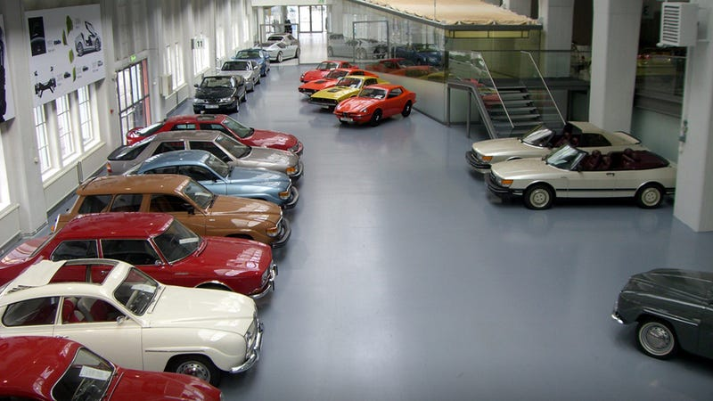 Illustration for article titled All 123 Cars Being Liquidated From Saab's Museum