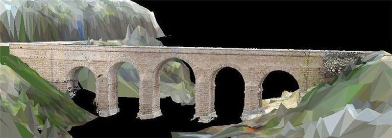 Illustration for article titled Radares y láser revelan los misterios de los puentes romanos