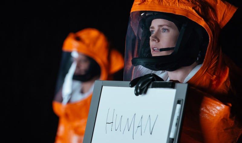 Illustration for article titled Hemos visto Arrival: una obra maestra de ciencia ficción a la que no podrás parar de darle vueltas
