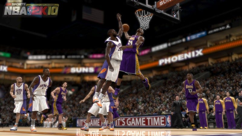 Illustration for article titled NBA 2K10 Review: Ball, You — Man!