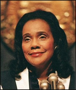 Coretta Scott King is a 2011 NWHF Inductee