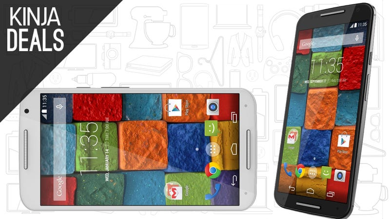 Illustration for article titled Amazon Will Sell You a Second Gen Moto X For $200, Today Only