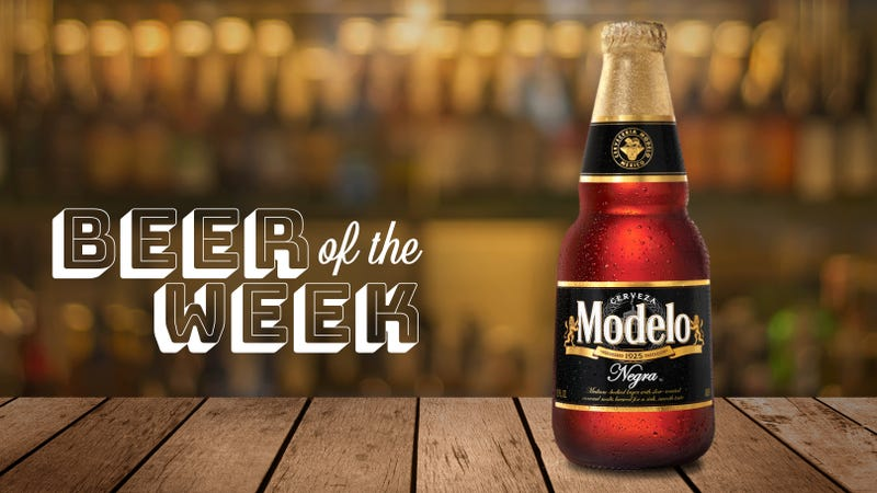 Illustration for article titled Beer Of The Week: It's Modelo Negra season